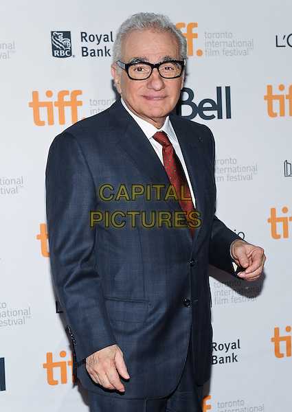 10 September 2014 - Toronto, Canada - Martin Scorsese. &quot;Revenge Of The Green Dragons&quot; Premiere during the 2014 Toronto International Film Festival held at the Ryerson Theatre.  <br /> CAP/ADM/BPC<br /> &copy;Brent Perniac/AdMedia/Capital Pictures