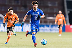Ulsan Hyundai Forward Lee Jongho in action during the AFC Champions League 2017 Group E match between Ulsan Hyundai FC (KOR) vs Brisbane Roar (AUS) at the Ulsan Munsu Football Stadium on 28 February 2017 in Ulsan, South Korea. Photo by Victor Fraile / Power Sport Images