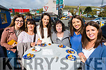 Pictured at the Dingle Food Festival on Saturday afternoon last, were l-r: Ciara McCabe, Siobhan Kirby, Grainne Keane, Bo Ashe, Edel Sheehy and Caoimhe Kirby.