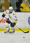 10 February 2012: University of Vermont Catamount forward Kyle Reynolds, a Freshman from Sylvan Lake, Alberta, in action against the Boston College Eagles at Gutterson Fieldhouse in Burlington, Vermont. The Eagles defeated the Catamounts 6-1 in their Hockey East matchup. Mandatory Credit: Ed Wolfstein Photo