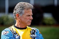 May 15, 2016; Commerce, GA, USA; NHRA pro stock motorcycle rider Jerry Savoie during the Southern Nationals at Atlanta Dragway. Mandatory Credit: Mark J. Rebilas-USA TODAY Sports