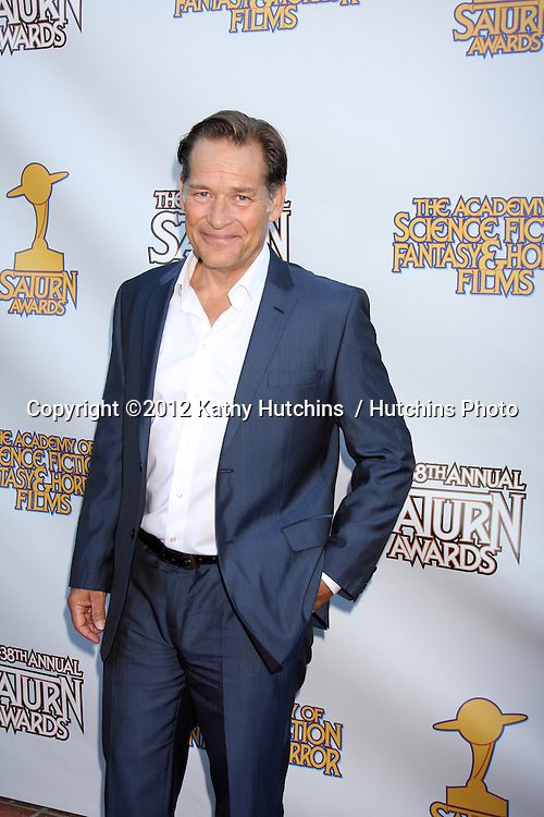 LOS ANGELES - JUL 26:  James Remar arrives at the 2012 Saturn Awards at Castaways on July 26, 2012 in Burbank, CA