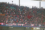 07.10.2018, Red Bull Arena, Leipzig, GER, 1. FBL 2018/2019, RB Leipzig vs. 1. FC N&uuml;rnberg/Nuernberg,<br /> <br /> DFL REGULATIONS PROHIBIT ANY USE OF PHOTOGRAPHS AS IMAGE SEQUENCES AND/OR QUASI-VIDEO.<br /> <br /> im Bild<br /> <br /> <br /> Fans vom 1. FC N&uuml;rnberg/Nuernberg<br /> <br /> Foto &copy; nordphoto / Dostmann