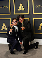 09 February 2020 - Hollywood, California -      Bong Joon-ho, Han Jin-won attend the 92nd Annual Academy Awards presented by the Academy of Motion Picture Arts and Sciences held at Hollywood & Highland Center. Photo Credit: Theresa Shirriff/AdMedia