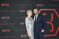 "LOS ANGELES - FEB 1:  Kristin Lehman, James Purefoy at the ""Altered Carbon"" Season 1 Premiere Screening at the Mack Sennett Studios on February 1, 2018 in Los Angeles, CA"