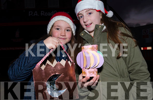 Robin Quinlan and Hannah Granville, from Dingle, at Féile na Soilse in Dingle on Sunday evening.