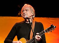 Justin Hayward of the Moody Blues in concert.