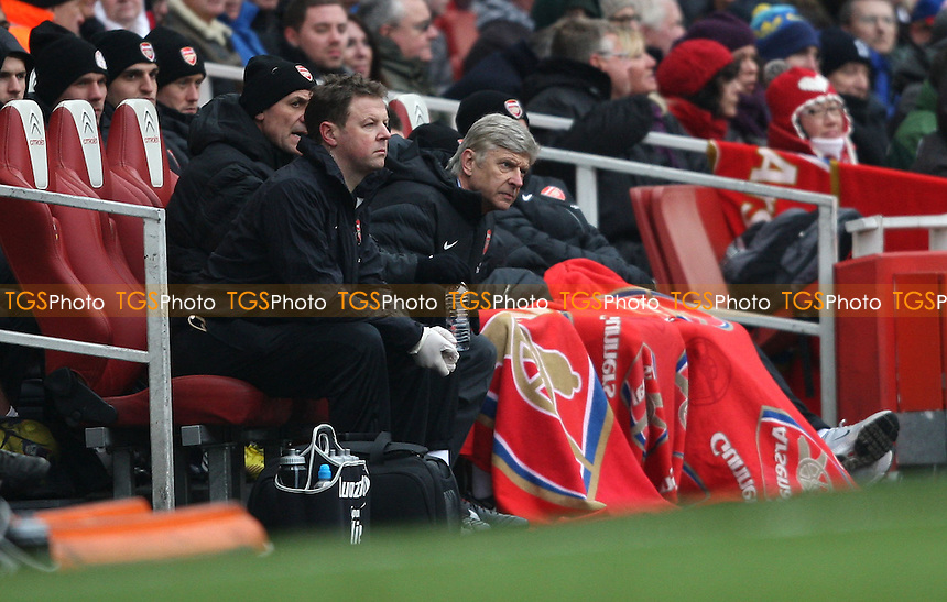 Arsenal manager Arsene Wenger - Arsenal vs Aston Villa, Barclays Premier League at the Emirates Stadium, Arsenal - 23/02/13 - MANDATORY CREDIT: Rob Newell/TGSPHOTO - Self billing applies where appropriate - 0845 094 6026 - contact@tgsphoto.co.uk - NO UNPAID USE.
