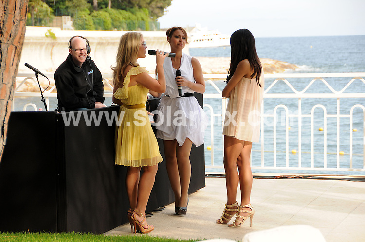 **ALL ROUND PICTURES FROM SOLARPIX.COM**.**WORLDWIDE SYNDICATION RIGHTS**.Amber loung fashion show featuring Liz Hurley Swimwear at La Maridien Hotel in Monaco, France..This pic:    Sugababes.JOB REF:     11255   MSR    DATE:   15.05.10.**MUST CREDIT SOLARPIX.COM OR DOUBLE FEE WILL BE CHARGED**.**MUST NOTIFY SOLARPIX OF ONLINE USAGE**.**CALL US ON: +34 952 811 768 or LOW RATE FROM UK 0844 617 7637**
