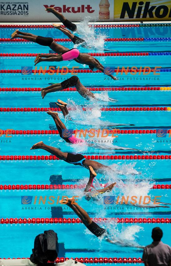starting<br /> 50 freestyle men<br /> 15 FINA World Aquatics Championships<br /> Day-14  swimming heats<br /> Barcelona 19 July - 4 August 2013<br /> Photo G.Scala/Insidefoto/Deepbluemedia.eu
