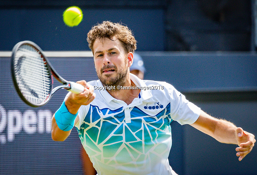 Den Bosch, Netherlands, 11 June, 2018, Tennis, Libema Open, Robin Haase (NED)<br /> Photo: Henk Koster/tennisimages.com