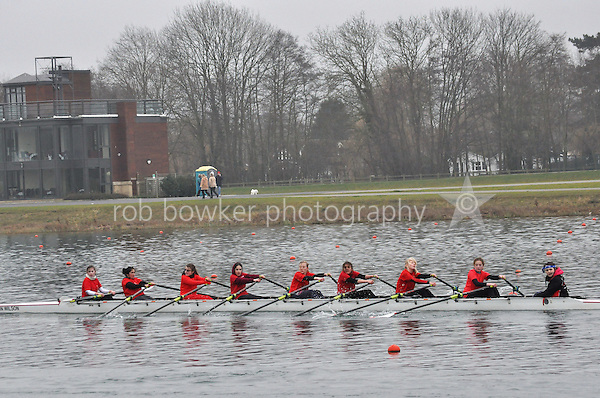 328 LadyEHolles W.J13A.8x+..Marlow Regatta Committee Thames Valley Trial Head. 1900m at Dorney Lake/Eton College Rowing Centre, Dorney, Buckinghamshire. Sunday 29 January 2012. Run over three divisions.