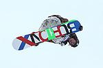 2011 FIS Snowboard World Cup  Championships , halfpipe qualification men's, La Molina. Picture show Dimitry Mindrul RUS FIS SNOWBOARD WORLD CHAMPIONS LA MOLINA
