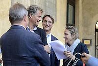 """Roma, 28 Luglio 2015.<br /> Sala del Cenacolo, Camera dei Deputati.<br /> Claudio Fava<br /> """"Per un programma di azione comune"""", assemblea di deputati e senatori per un nuovo soggetto politico di sinistra. Parlamentari di Sel, parlamentari che hanno lasciato in queste settimane il Partito Democratico, parlamentari che hanno lasciato il M5S, o che provengono da altre esperienze politiche sisono incontrati per la prima volta per avviare insieme un percorso parlamentare."""