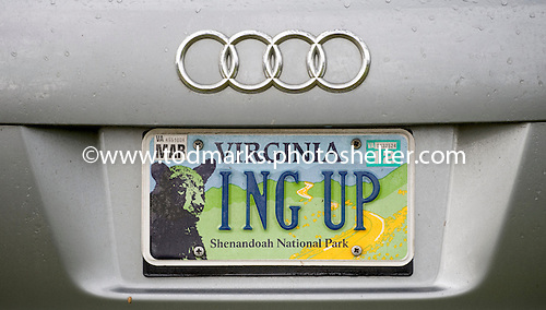 License plate of the day at Middleburg 2011.