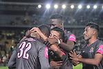 Tigres venció 1-0 a Atlético Nacional. Partido aplazado de la fecha 17 Liga Águila II-2017.