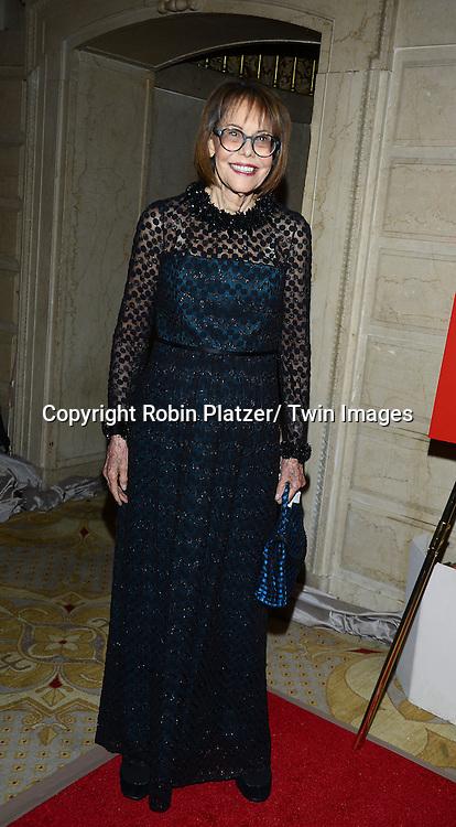 Barbara Goldsmith attends the New York Landmarks Consevancy's 20th Annual Living Landmarks Celebration on November 14, 2013 at the Plaza Hotel in New York City.