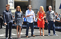 www.acepixs.com<br /> <br /> May 21 2017, LA<br /> <br />  Tom Cruise, Sofia Boutella, Jake Johnson, Annabelle Wallis and Alex Kurtzman at the Universal Celebrates 'The Mummy Day' with 75-Foot Sarcophagus Takeover at Hollywood And Highland on May 20, 2017 in Hollywood, California.<br /> <br /> By Line: Peter West/ACE Pictures<br /> <br /> <br /> ACE Pictures Inc<br /> Tel: 6467670430<br /> Email: info@acepixs.com<br /> www.acepixs.com