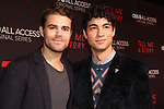 Guiding Light's Paul Wesley and Davi Santos at Premier of Tell Me A Story - This is no fairy tale at Metrograph, NYC on October 23, 2018 which is a CBS - all Access original series - premieres on Halloween  (Photo by Sue Coflin/Max Photos)