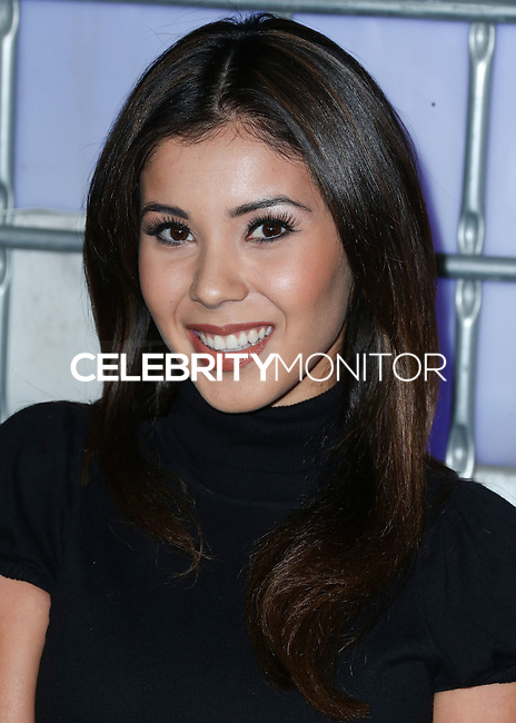 HOLLYWOOD, LOS ANGELES, CA, USA - NOVEMBER 10: Ashley Campuzano arrives at the HaloFest - Halo: The Master Chief Collection Launch Event held at Avalon on November 10, 2014 in Hollywood, Los Angeles, California, United States. (Photo by Xavier Collin/Celebrity Monitor)