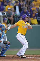 June 5, 2010: Blake Dean of LSU during NCAA Regional game against UCLA at Jackie Robinson Stadium in Los Angeles,CA.  Photo by Larry Goren/Four Seam Images