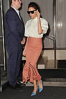 www.acepixs.com<br /> September 12, 2017 New York City<br /> <br /> Victoria Beckham was seen in New York City on September 12, 2017.<br /> <br /> Credit: Kristin Callahan/ACE Pictures<br /> <br /> Tel: 646 769 0430<br /> Email: info@acepixs.com