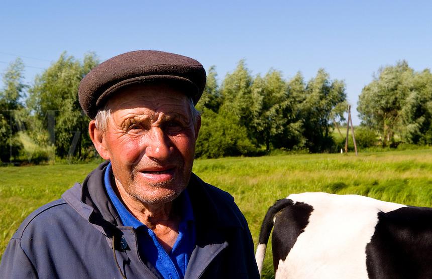 Portrait of farmer, Ukraine