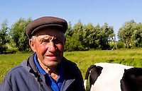 Portrait of farmer, Ukraine
