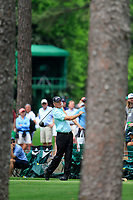 Larry Mize (USA) on the 17th tee during the 2nd round at the The Masters , Augusta National, Augusta, Georgia, USA. 12/04/2019.<br /> Picture Fran Caffrey / Golffile.ie<br /> <br /> All photo usage must carry mandatory copyright credit (© Golffile | Fran Caffrey)