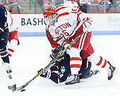Patrick Kirtland (UConn - 24), John MacLeod (BU - 16) - The Boston University Terriers defeated the visiting University of Connecticut Huskies 4-2 (EN) on Saturday, October 24, 2015, at Agganis Arena in Boston, Massachusetts.