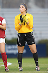 22 November 2013: Arkansas' Cameron Carter. The University of Arkansas Razorbacks played the Saint John's University Red Storm at Koskinen Stadium in Durham, NC in a 2013 NCAA Division I Women's Soccer Tournament Second Round match. Arkansas won the game 1-0.