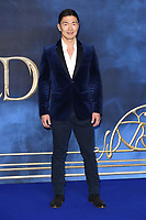 LONDON, UK. November 13, 2018: Rick Yune at the &quot;Fantastic Beasts: The Crimes of Grindelwald&quot; premiere, Leicester Square, London.<br /> Picture: Steve Vas/Featureflash