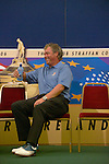 Darren Clarke waits for the European Team Photo for the 2006 Ryder Cup at The K Club..Photo: Eoin Clarke/Newsfile.