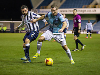 Garry Thompson of Wycombe Wanderers during the Checkatrade Trophy round two Southern Section match between Millwall and Wycombe Wanderers at The Den, London, England on the 7th December 2016. Photo by Liam McAvoy.
