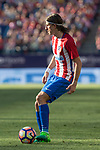 Filipe Luis of Atletico de Madrid during the match of La Liga between  Atletico de Madrid and Club Atletico Osasuna at Vicente Calderon  Stadium  in Madrid, Spain. April 15, 2017. (ALTERPHOTOS / Rodrigo Jimenez)