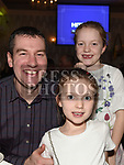 Robbie, Lauren and Niamh Faulkner at the Boyne AC awards night in the Westcourt Hotel. Photo:Colin Bell/pressphotos.ie