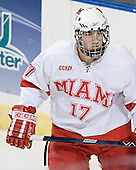 Nathan Davis - The Boston College Eagles defeated the Miami University Redhawks 5-0 in their Northeast Regional Semi-Final matchup on Friday, March 24, 2006, at the DCU Center in Worcester, MA.
