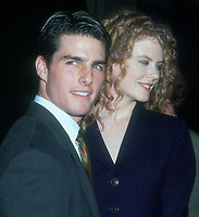 Tom Cruise, Nicole Kidman, 1992, Photo By Michael Ferguson/PHOTOlink