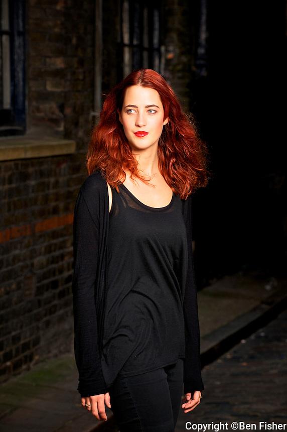 Victoria Rowe in Shoreditch