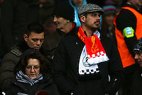 during the Premier League match between Liverpool and Swansea City at Anfield, Liverpool, Merseyside, England, UK. Saturday 21 January 2017