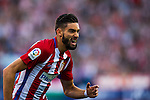 Yannick Ferreira Carrasco of Club Atletico de Madrid celebrates during their La Liga match between Club Atletico de Madrid and Malaga CF at the Estadio Vicente Calderón on 29 October 2016 in Madrid, Spain. Photo by Diego Gonzalez Souto / Power Sport Images