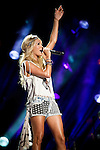 Carrie Underwood performs at LP Field during Day Four of the 2013 CMA Music Festival in Nashville, Tennessee.