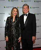 United States Senator Roy Blunt (Republican of Missouri) and his wife, Abigail, arrive for the formal Artist's Dinner honoring the recipients of the 41st Annual Kennedy Center Honors hosted by United States Deputy Secretary of State John J. Sullivan at the US Department of State in Washington, D.C. on Saturday, December 1, 2018. The 2018 honorees are: singer and actress Cher; composer and pianist Philip Glass; Country music entertainer Reba McEntire; and jazz saxophonist and composer Wayne Shorter. This year, the co-creators of Hamilton­ writer and actor Lin-Manuel Miranda, director Thomas Kail, choreographer Andy Blankenbuehler, and music director Alex Lacamoire will receive a unique Kennedy Center Honors as trailblazing creators of a transformative work that defies category.<br /> Credit: Ron Sachs / Pool via CNP
