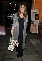 Myleene Klass at the Prince's Foundation for Children and the Arts annual carol concert, Holy Trinity Church, Sloane Street, London, England, UK, on Monday 03 December 2018.<br /> CAP/CAN<br /> &copy;CAN/Capital Pictures