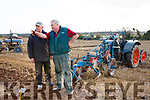 Timmy Horan and Aeneas Horan at the Ballyheigue's ploughing match at  the Rectory field, Buncurrig on Sunday