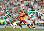 19.05.2018 Scottish Cup Final Celtic v Motherwell: Chris Cadden with Scott Brown and Oliver Ntcham