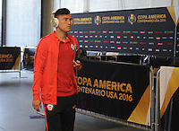 Philadelphia, PA - Tuesday June 14, 2016: Charles Aranguiz prior to a Copa America Centenario Group D match between Chile (CHI) and Panama (PAN) at Lincoln Financial Field.