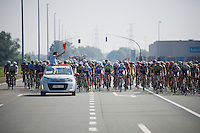 official start of the race<br /> <br /> 90th Schaal Sels 2015