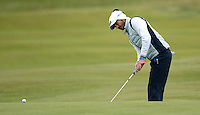 Alejandro Canizares of Spain putts during the Final Round of the 2015 Alfred Dunhill Links Championship at the Old Course, St Andrews, in Fife, Scotland on 4/10/15.<br /> Picture: Richard Martin-Roberts | Golffile