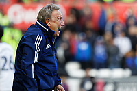 Cardiff manager Neil Warnock reacts on the touch line during the Sky Bet Championship match between Swansea City and Cardiff City at the Liberty Stadium, Swansea, Wales, UK. Sunday 27 October 2019